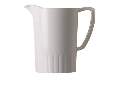 Pichet blanc 1.5L plastique