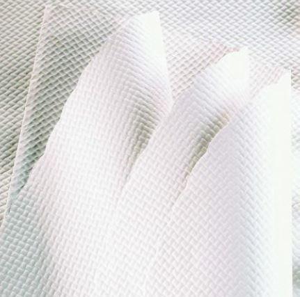 Nappe papier BLANCHE diam. 128cm