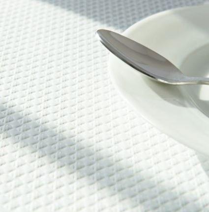 Nappe papier BLANCHE 60x100 cm