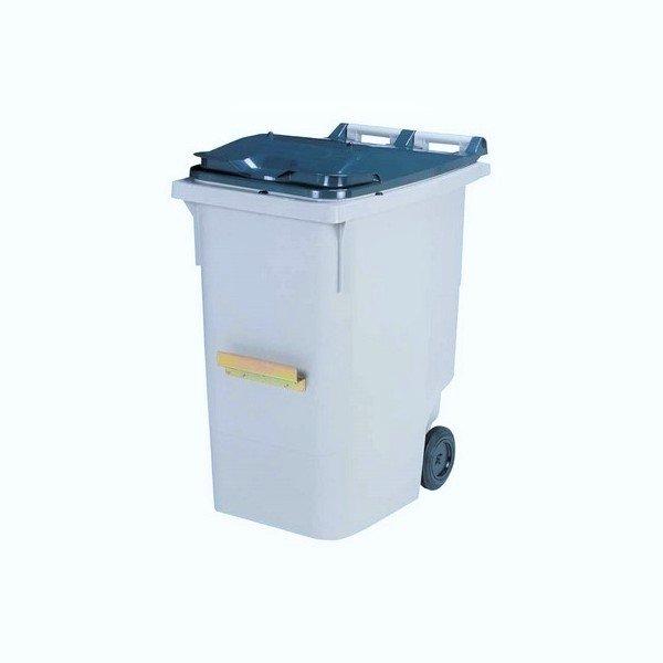 Container 2 roues 120 L avec barre