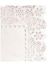 Dentelle papier rect. 26x37cm