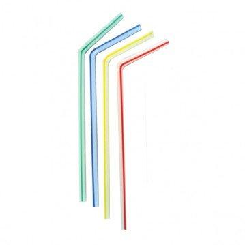 Paille flexible 23cm