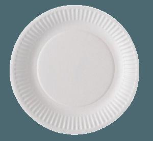 Assiette carton biodégradable 23 cm
