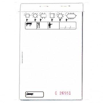 Bloc Commande autocopiant 3F 95x150