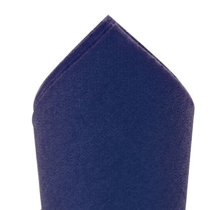 Serviette 38x38cm Bleu vif 2 ép