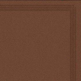 Serviette 38x38 TENDANCE Chocolat+liseré
