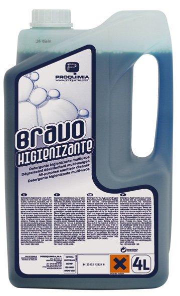 Bravo Hygienisante Désinfectant Surodorant Virucide