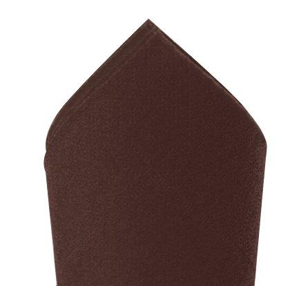 Serviette 38x38cm Chocolat