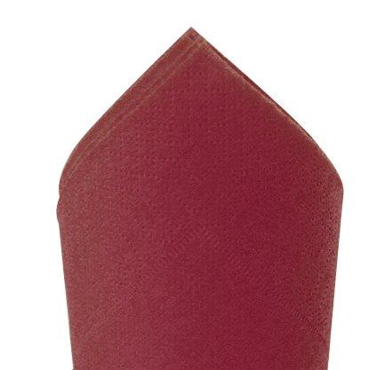 Serviette 38x38cm Bordeaux