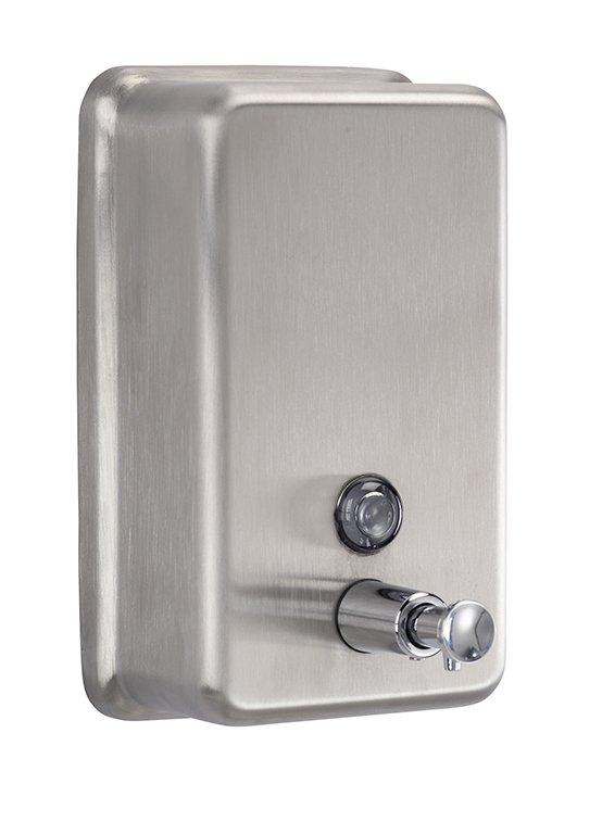 Distributeur Savon Liquide Rechargeable 1.2L INOX