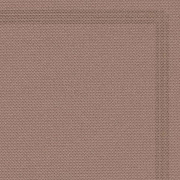Serviette 38x38 TENDANCE Argile + liseré