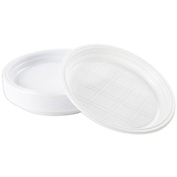 Assiette Plastique Creuse 22 cm