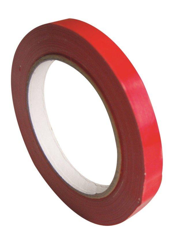 Ruban adhésif 66m x 1.2 cm Rouge
