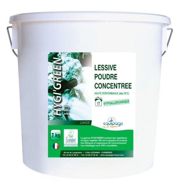 HYGI'GREEN 110 Poudre Lave-Vaisselle ECOLABEL