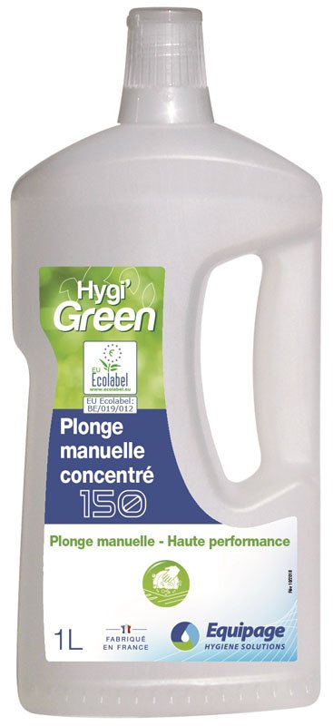 HYGI'GREEN 150 Liquide Vaisselle Manuelle ECOLABEL