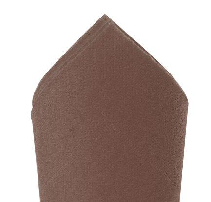 Serviette 38x38cm Argile 2 ép - paquet de 100