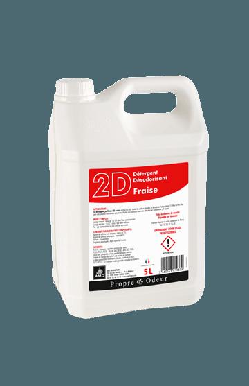 2D FRAISE Détergent Neutre Odorant