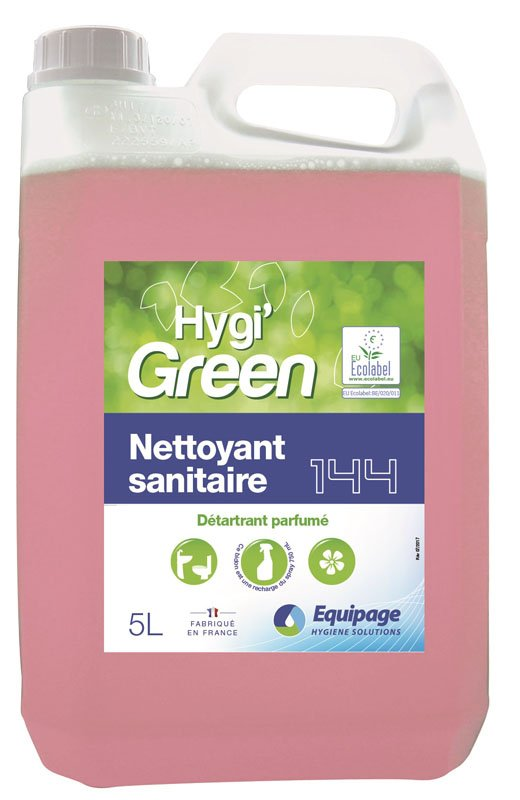 HYGI'GREEN 144 Nett. Sanitaire Anti-Calcaire ECOLABEL