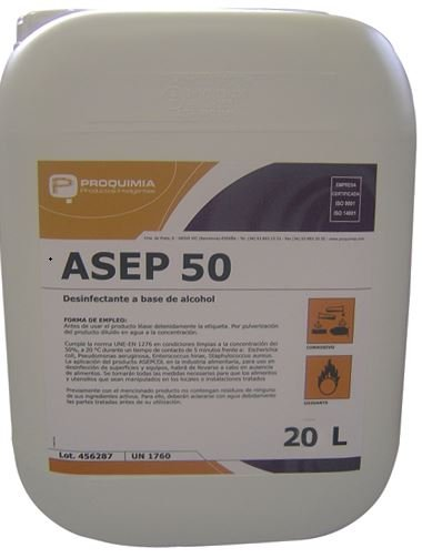 ASEP 50 ECO Agent de Blanchiment Désinfectant Linge