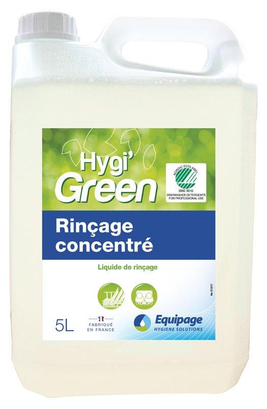 HYGI'GREEN Rinçage HYPER-concentré Ecolabel
