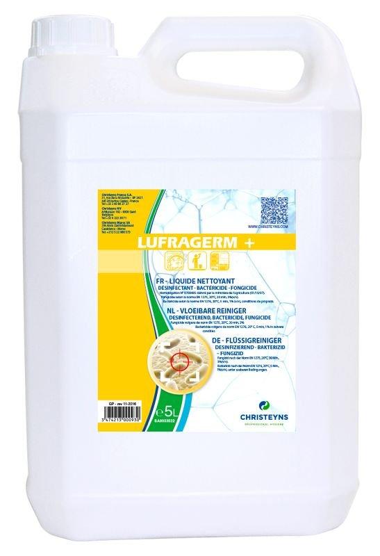 LUFRAGERM + Détergent désinfectant  alimentaire