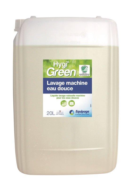 HYGI'GREEN Lavage Machine Ecolabel