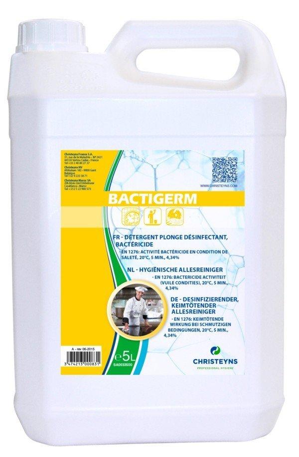 Bactigerm Liquide Vaisselle Plonge Désinfectant