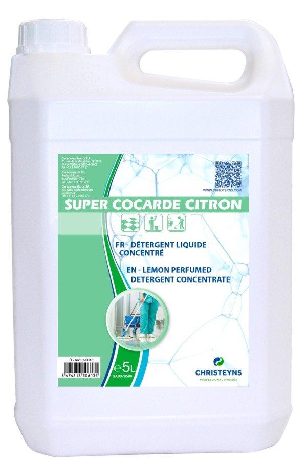 SUPER COCARDE Détergent Amoniaqué