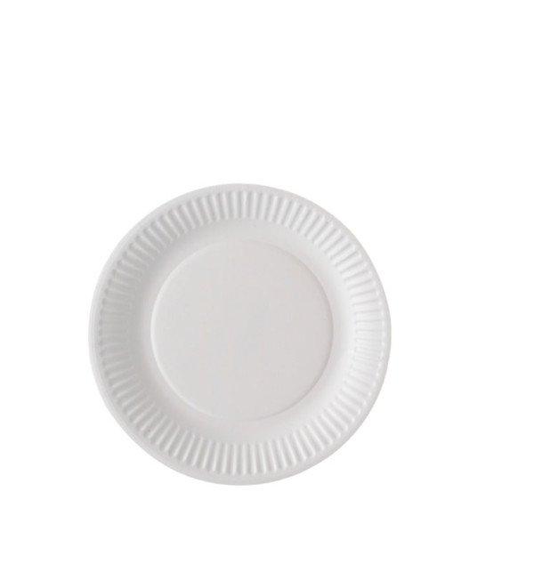 Assiette carton biodégradable 15 cm
