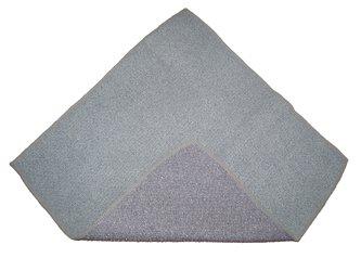 Torchon Microfibre Gris Spécial Verres 40x75 cm