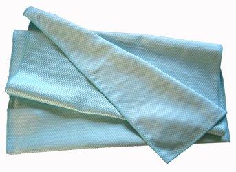Torchon Microfibre Bleu Spécial Verres 40x75 cm