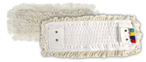 Frange Coton 40 cm à Languette + Poches+Oeillet
