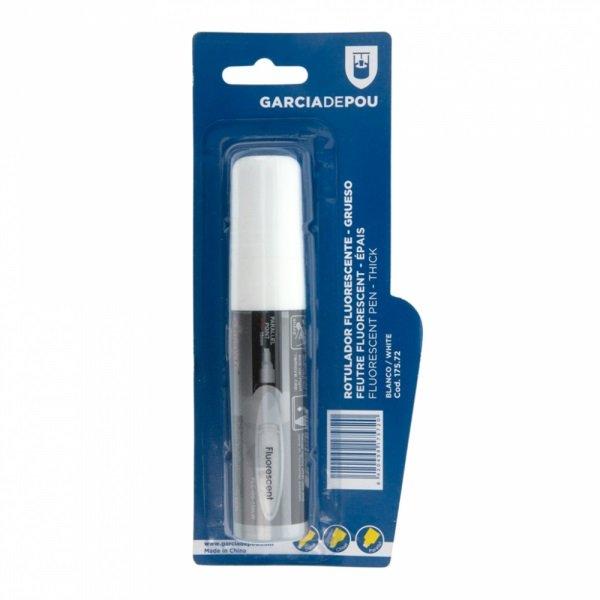Feutre Fluorescent Blanc EPAIS pour Ardoise