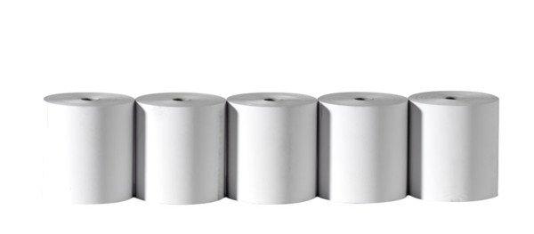 Bobines Papier Thermique  80x76x12 55 µ
