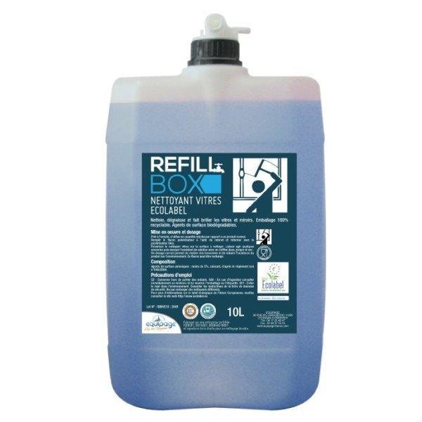 REFILL BOX Nettoyant Vitres et surfaces Ecolabel