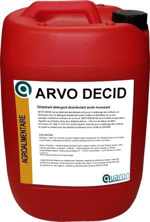 ARVO DECID Détartrant Désinf. Acide Moussant
