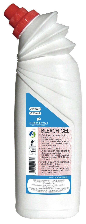BLEACH Gel détartrant WC Chloré