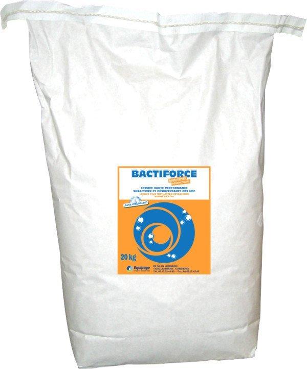 BACTIFORCE Lessive Tous Textiles Désinfectante