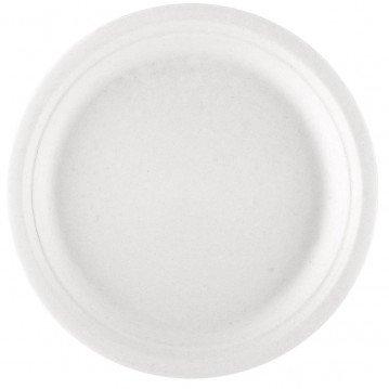 Assiette jetable BIONIC 18cm CANNE A SUCRE