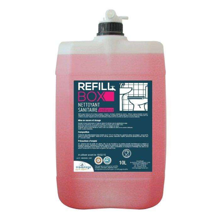 REFILL BOX Sanitaire Détartrant Bactéricide 4en1