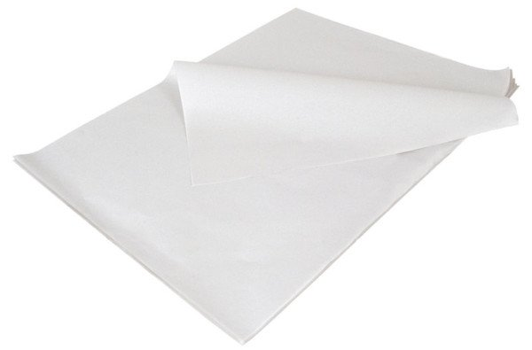 Feuille papier ingraissable Blanc 32x50 cm