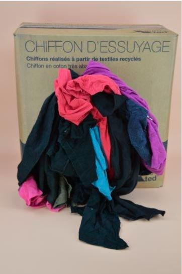 Chiffon Tshirt coton couleur
