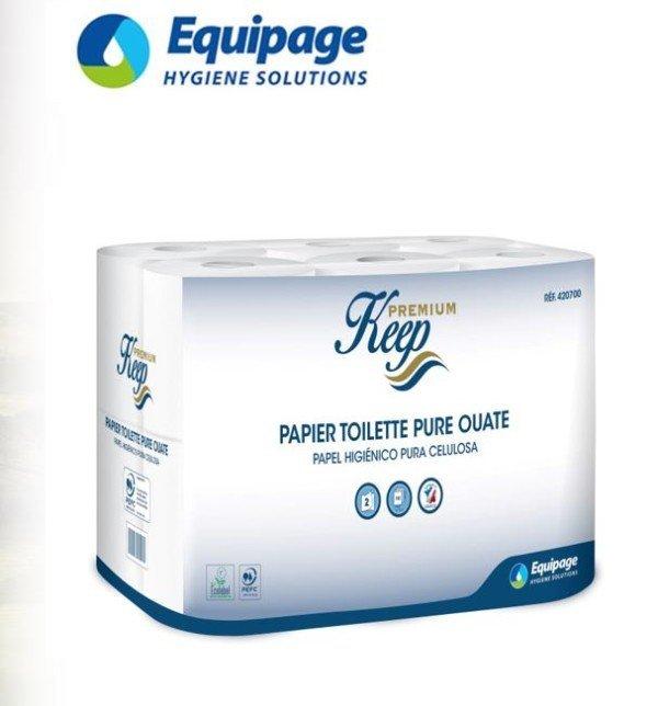 Papiers Toilettes Petit rouleau KEEP 2plis