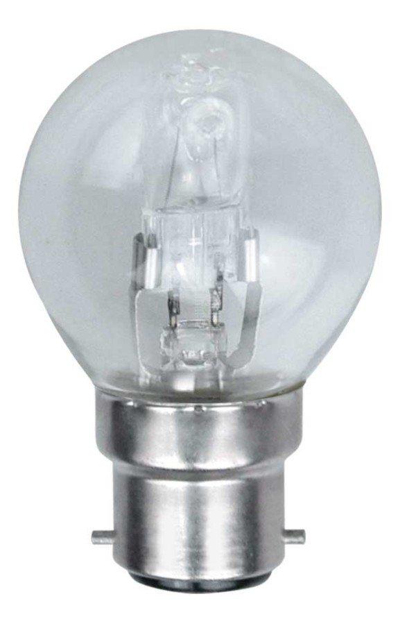 Ampoule Sphérique Halogéne ECO 46W 240V B22