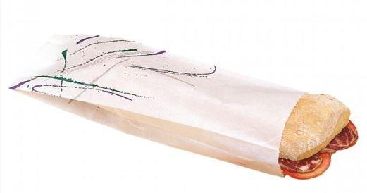 Sac sandwich 'PAROLE'12+4x35cm Ing