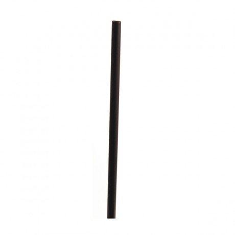 Paille Droite Noire 21 cm