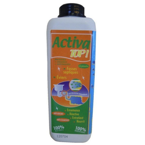 ActivaTop Poudre Fosse septique Bac à graisse
