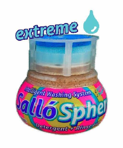 Sallosphere Lavage Lave-Vaisselle - Spécial eau dure 355gr