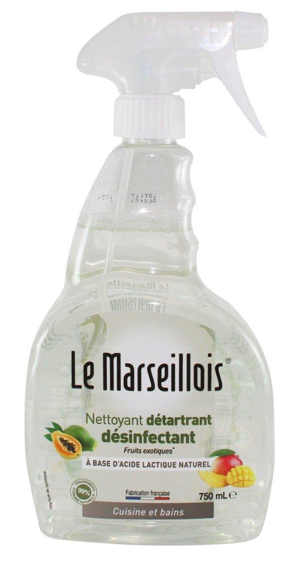 MARSEILLOIS Détartrant Désodorisant Désinfectant 4en1