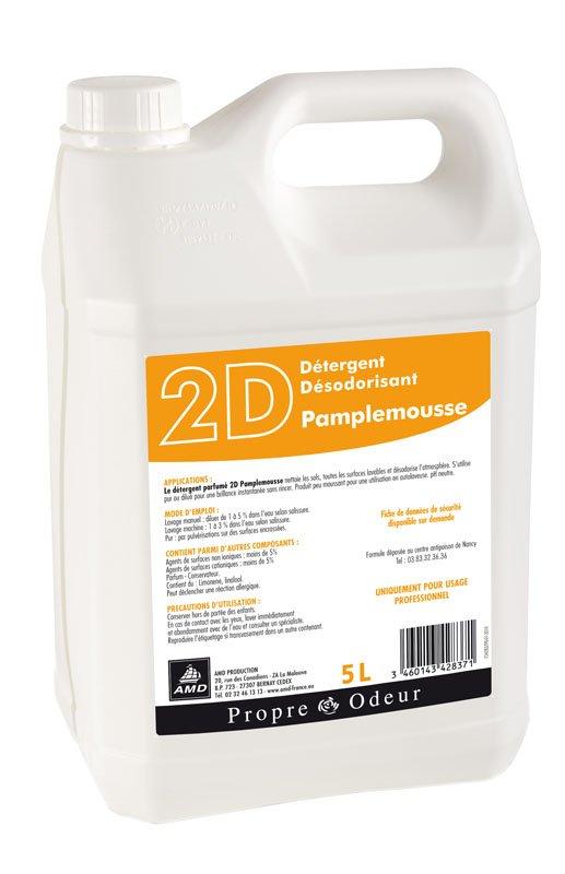 2D PAMPLEMOUSSE Détergent Neutre Odorant